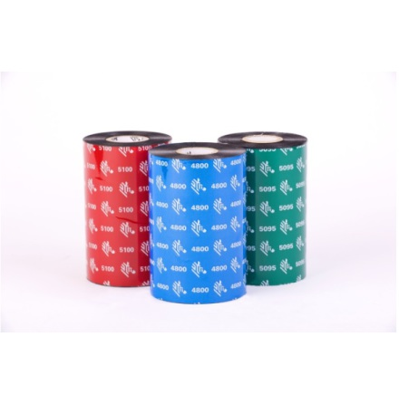 Färgband Zebra 5095 High Performence Resin